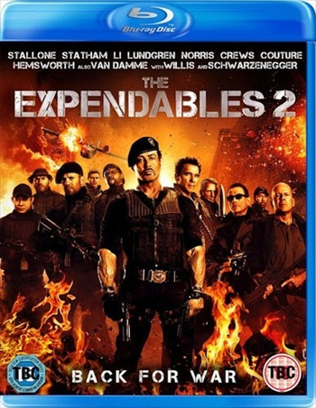 The Expendables 2 (2012) Dual Audio Hindi Bluray Movie Download