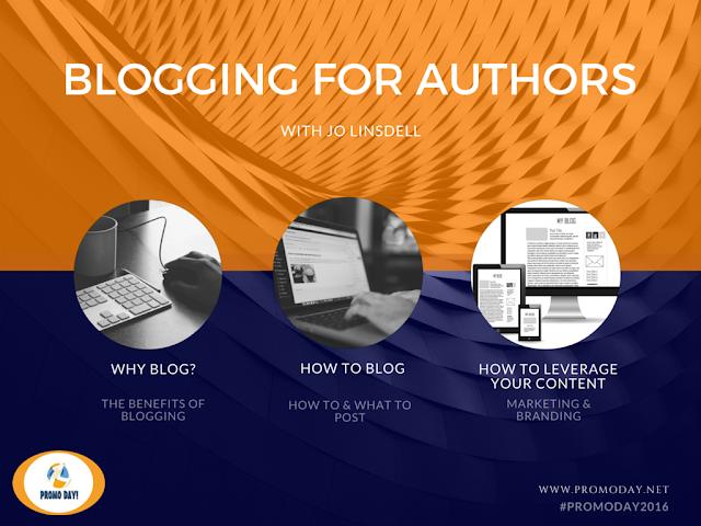 Free Blogging for Authors Webinar www.PromoDay.net @PromoDayEvent #PromoDay2016