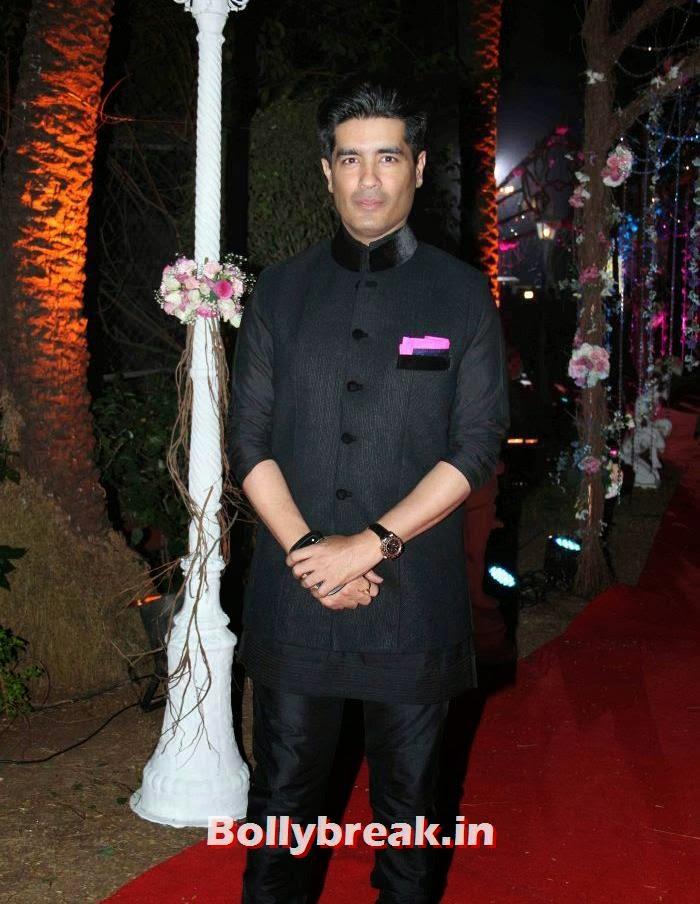Manish Malhotra, Ahana Deol Wedding & Reception Pics