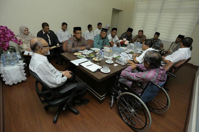 Wali Nanggroe Aceh Bahas Penguatan Kelembagaan Mukim