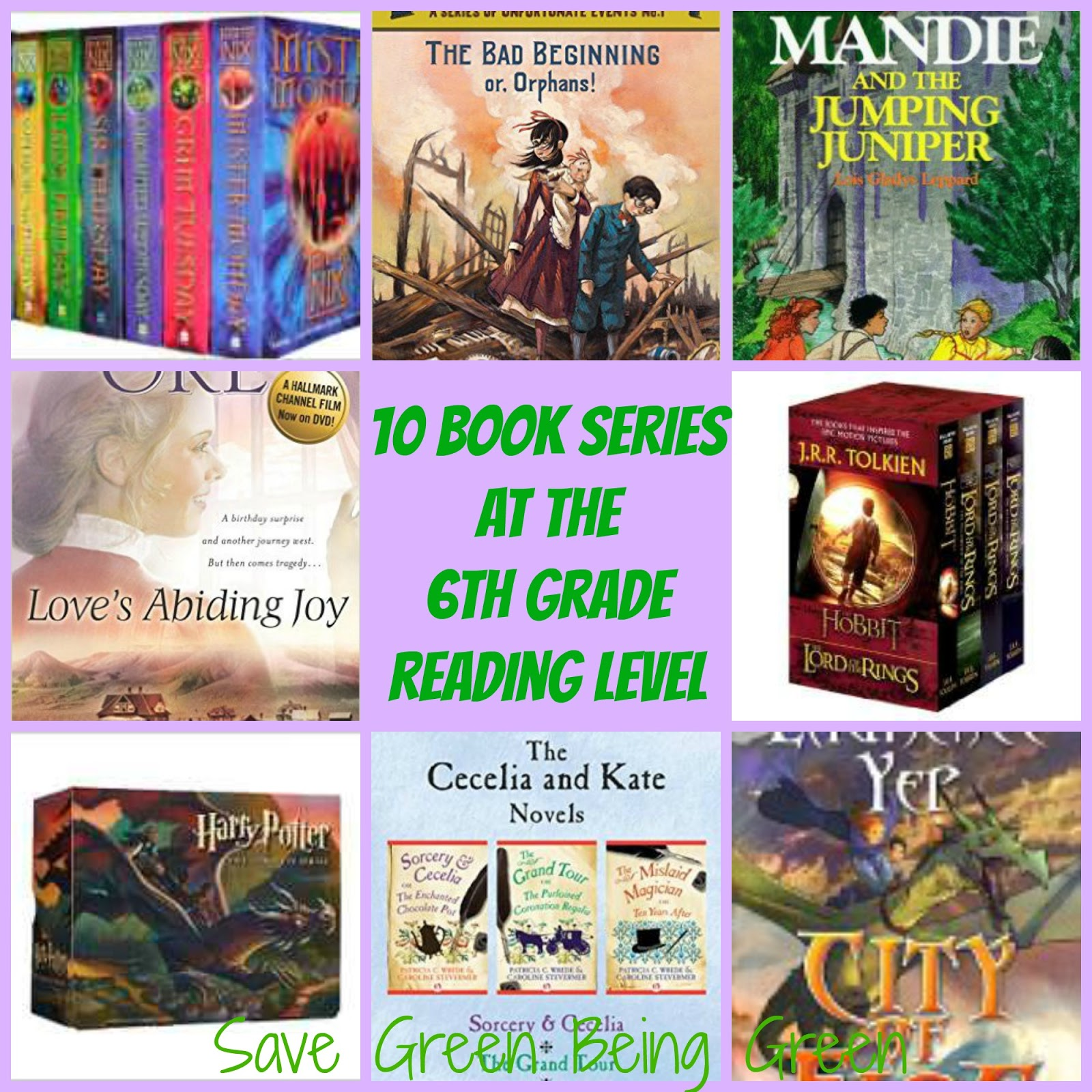 Harry Potter Book Grade Level : Save green being book series at the th grade