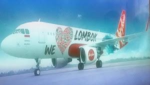 Livery Pesawat AirAsia Ikut Promosikan Pariwisata NTB