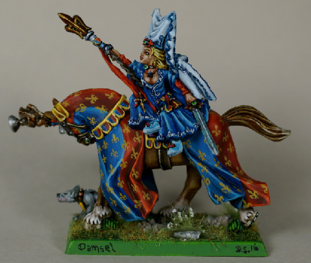 What's On Your Table: Bretonnia Damsel and Variant Questing Knight