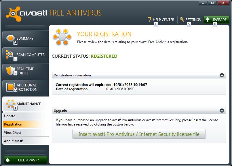 lisensi avast internet security sampai 2038