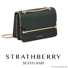 Meghan Markle carried Strathberry Mini crossbody bag