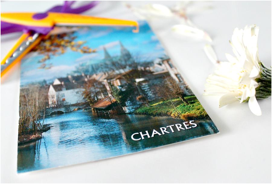 Chartres, een stad in Midden-Frankrijk.