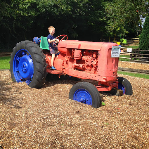 tractor at woodside farm