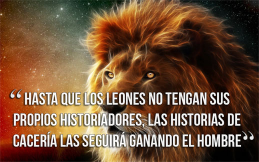 frases largas de animales
