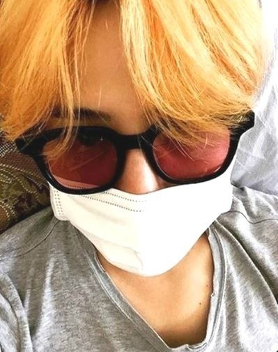 G dragon orange hair