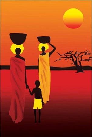 Châu Phi: Thảo Nguyên Savannah - Africa: Savannah