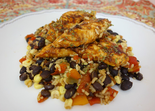 Santa Fe Chicken & Rice | Plain Chicken