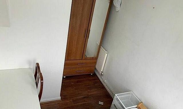 Νοίκιασαν αυτό το δωμάτιο: Όταν άνοιξαν την πόρτα έπαθαν ΣΟΚ (pics)