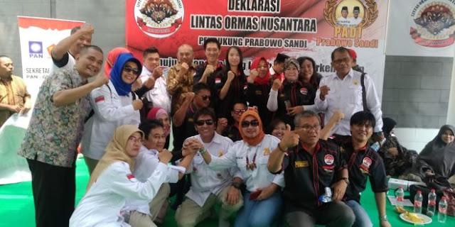 40 Ormas Deklarasi Dukung Prabowo-Sandiaga di Pilpres 2019