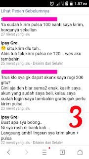 Ipay Gre PENIPU Penjual Akun Clash Of Clans Phising BRI HASNI 746101004213531 hp 081213344284