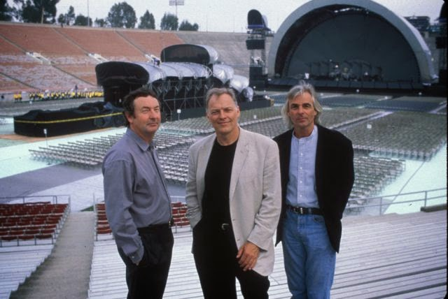 pink floyd - david gilmour nick mason richard wraith