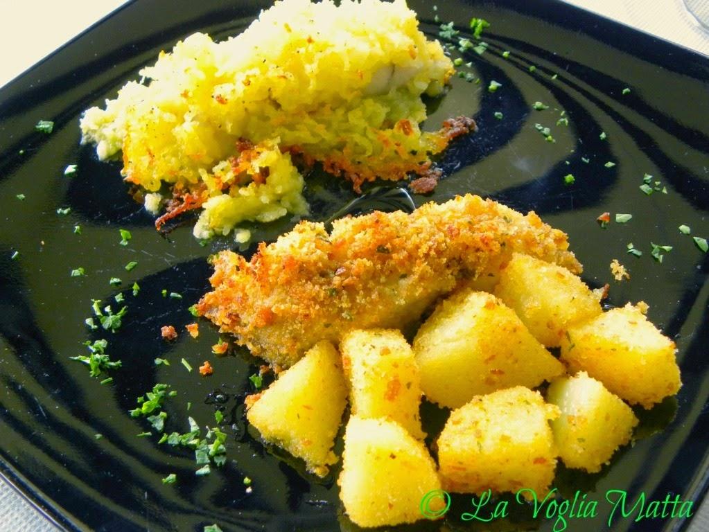 Ristorante Tenda Rossa Trieste ombrina in crosta di patate