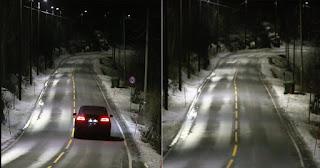 Ήρθαν οι «έξυπνοι» δρόμοι στην Νορβηγία: Τα φώτα ανάβουν αυτόματα μόλις περνάει αυτοκίνητο