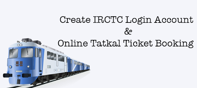 IRCTC Login Account | Online Tatkal Ticket Booking | nget.irctc.co.in