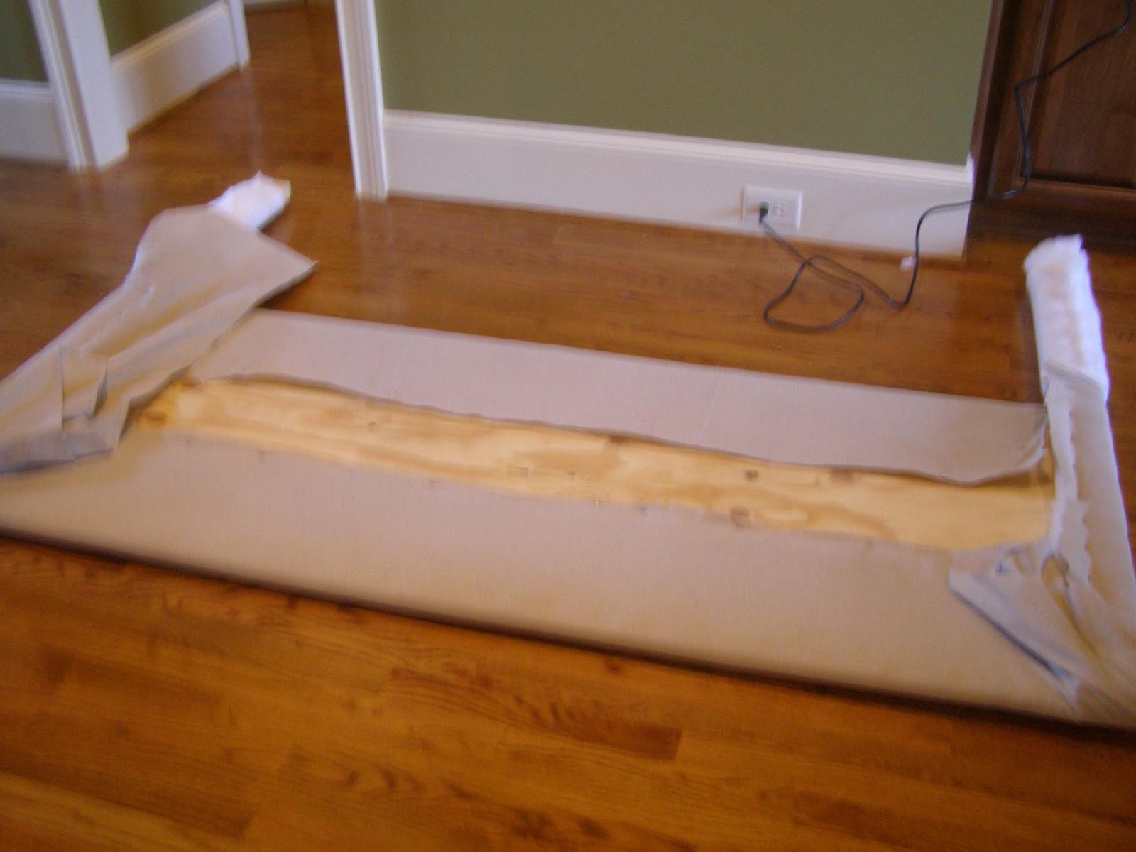 Eu amo artesanato cabeceira para cama box passo a passo - Forrar cabecero de cama ...