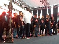 Usai Pukul Gong, Jokowi Salami Peserta Rembuk Nasional
