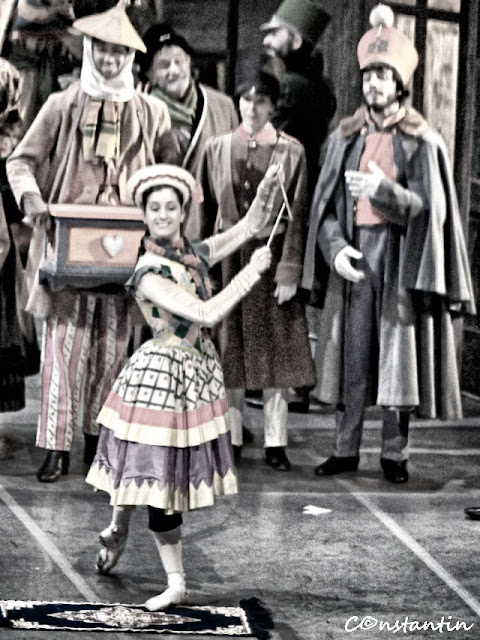 Dansatorul şi fotograful - Repetiţie la Scala din Milano - blog FOTO-IDEEA