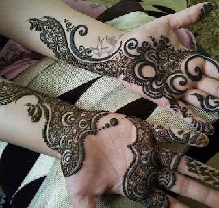 Cute Dashing Back Hand Jaal Style Mehndi Design 2016 Mehndi
