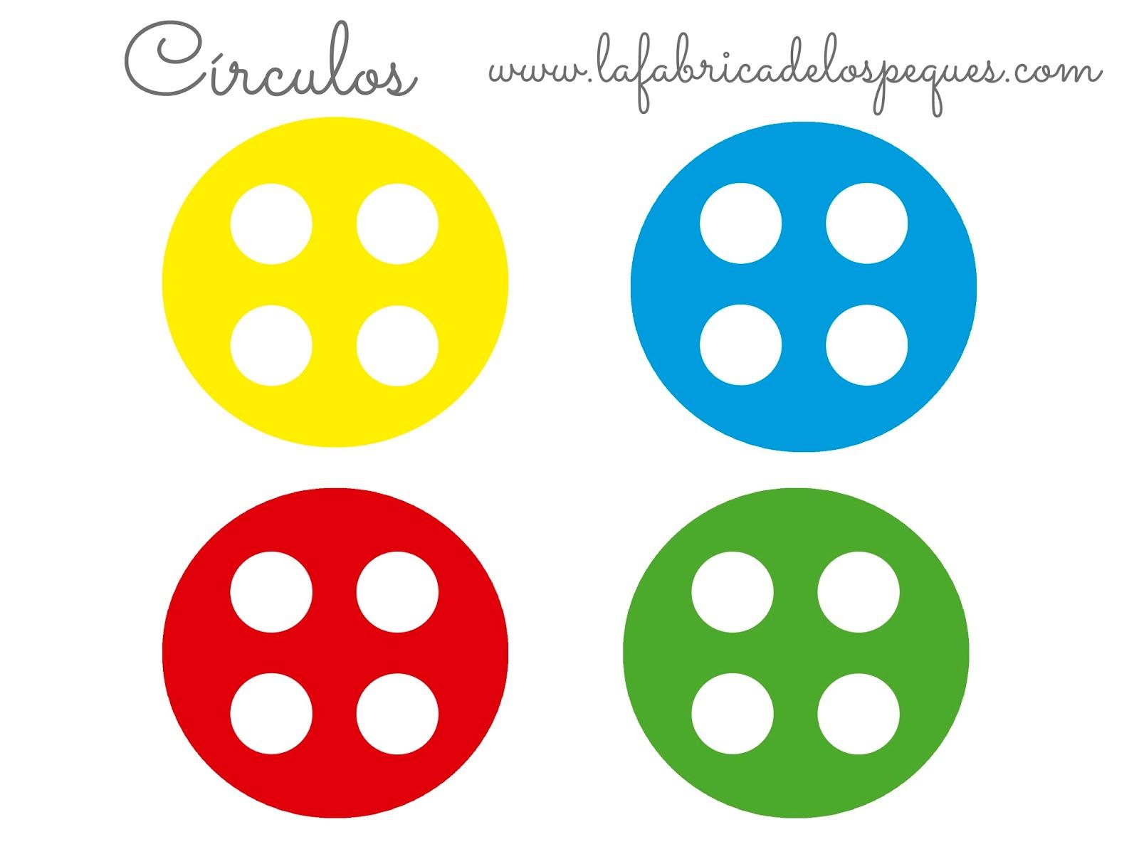 Imprimibles gratis para actividades con gomets | La fábrica de los ...