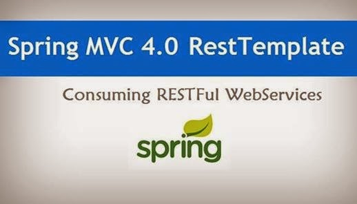 Spring MVC 4 0: Consuming RESTFul Web Services using