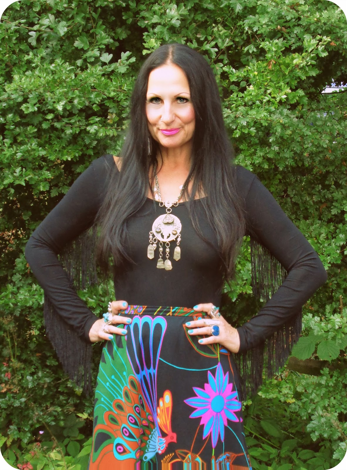 Vintage Vixen: The Psychedelic Shamanic Skirt - Charity ...