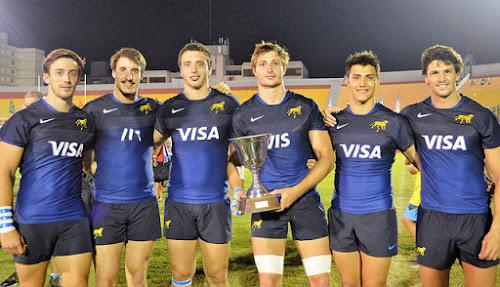 Los Pumas 7s campeones en Punta del Este