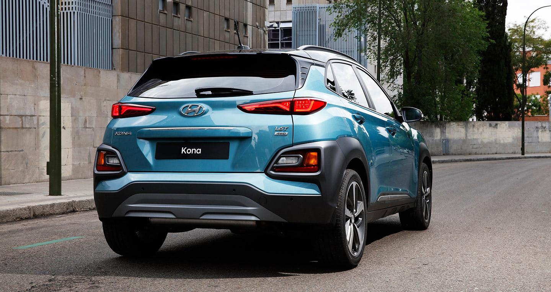 Thiết kế đuôi xe Kona
