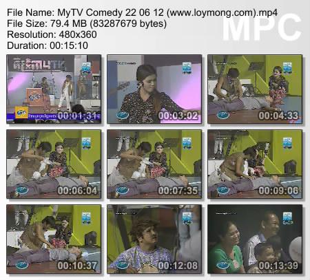 MyTV Comedy on (22.06.2012)