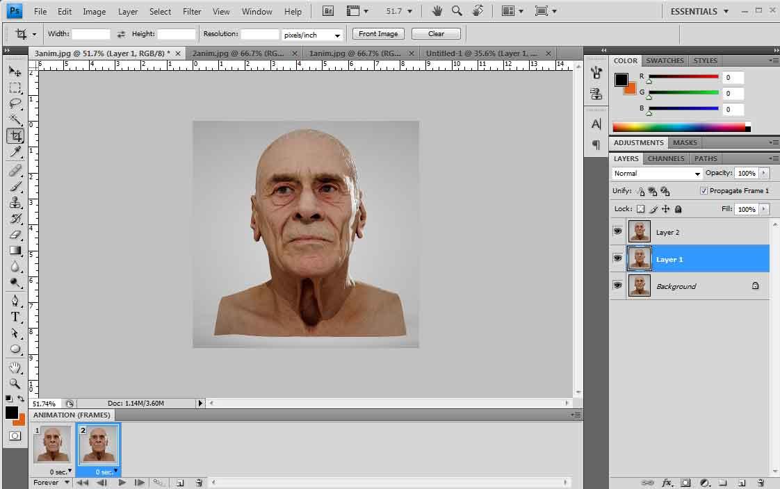 Cara Menyatukan Gambar Menjadi Animasi Gif Di Photoshop Mas Vian