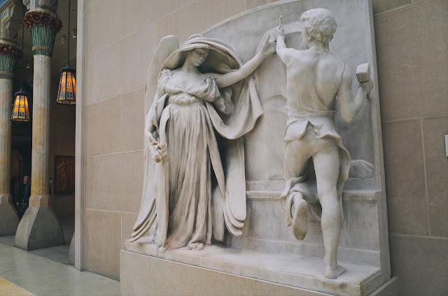死の天使と彫刻家(The Angel of Death and the Sculptor from the Milmore Memorial)