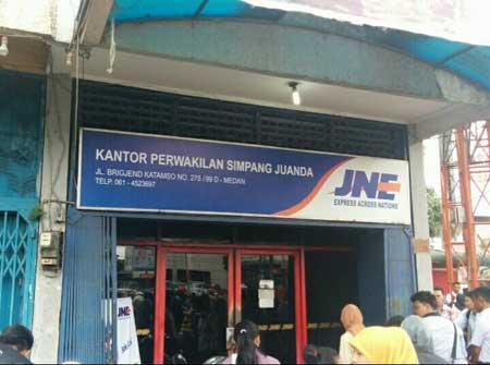 Cara & Tempat Ambil Kiriman Paket JNE Medan