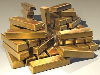 Goldbarren sind unproduktiv.