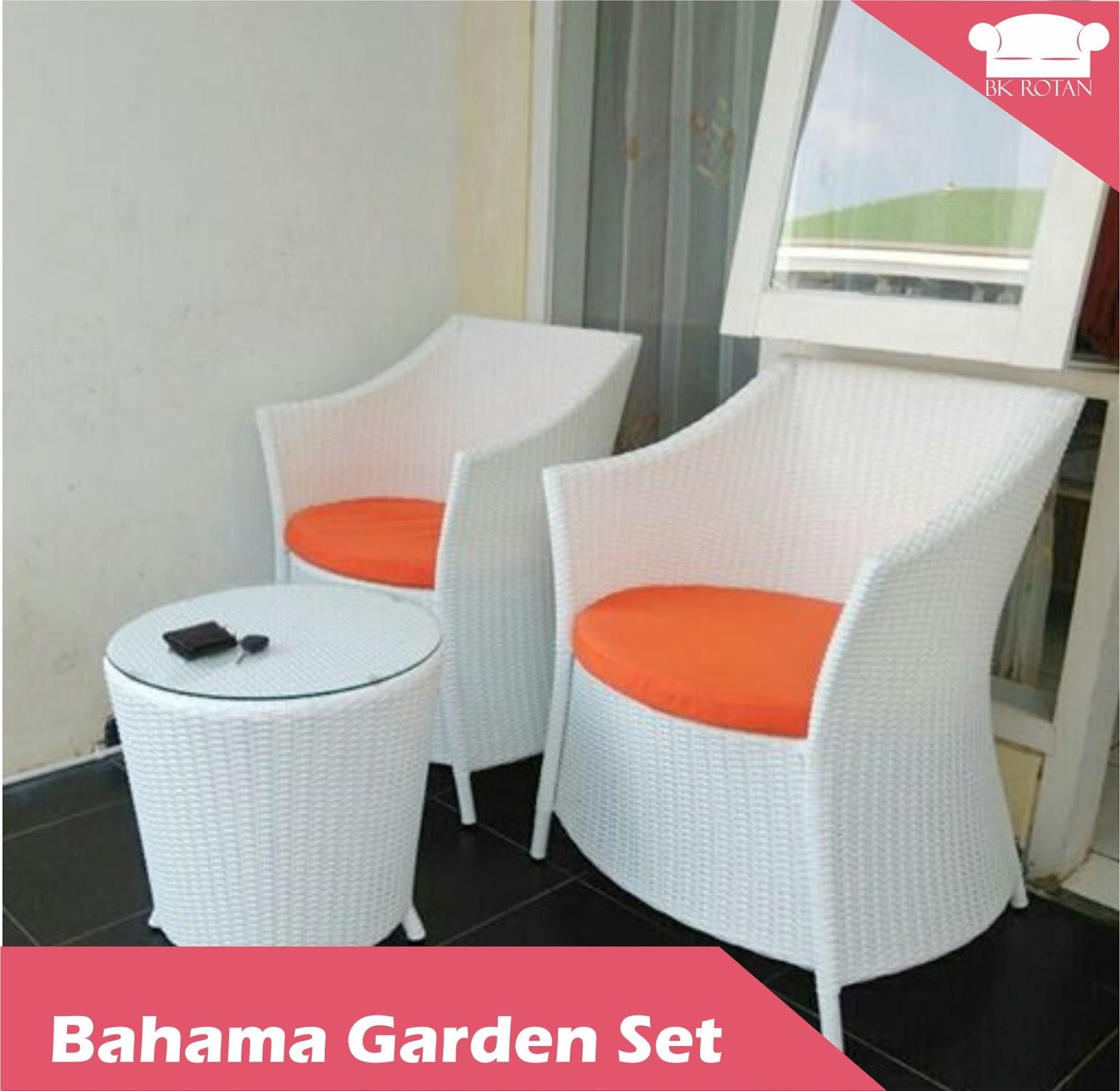 Bahama Garden Set Buana Kreasi Rotan 1 Kursi Teras Minimalis Sintetis