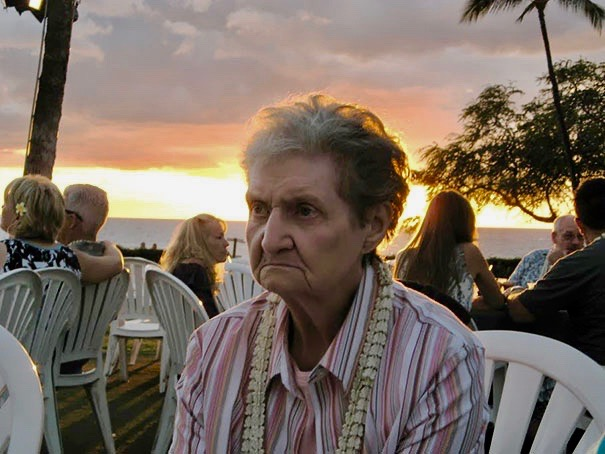 1 We Took My Grandma To Hawaii For The First Time. Your Own Damn Way MarchMatron.com