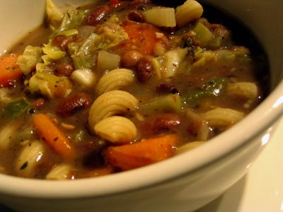 Romano Bean and Vegetable Soup