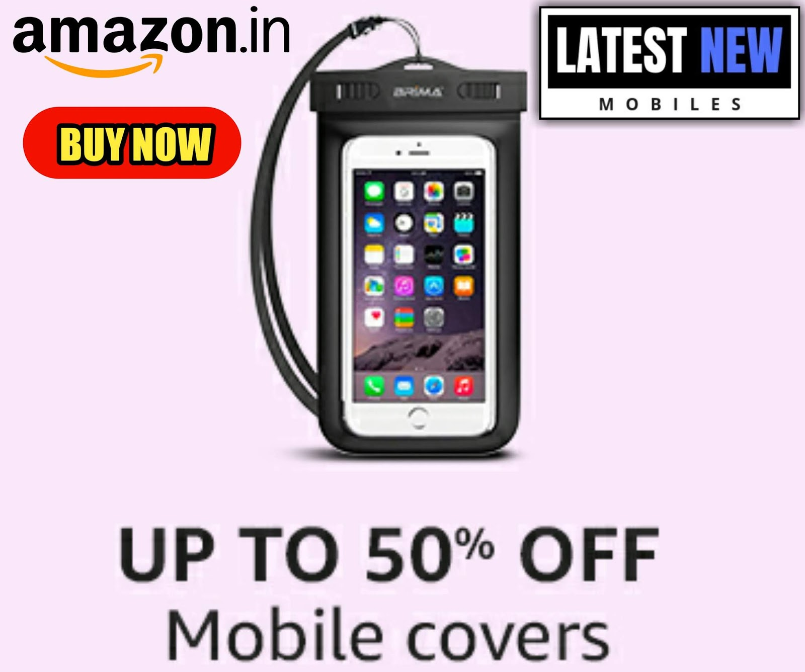 Mobile Covers - UP TO 50% OFF
