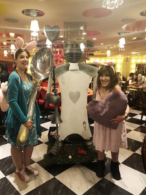 Café Alice Au Pays des Merveilles à Tokyo