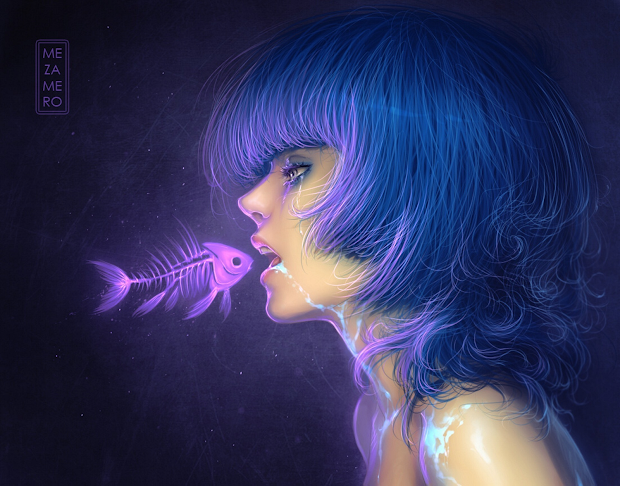 Awesome Digital Art Girls Wallpapers