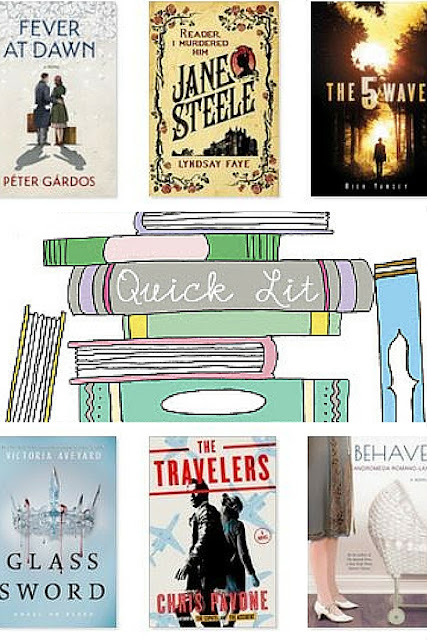 This month included YA inovel in both dystopian and post-apocalyptic forms, a page turner, and a blast from the past.