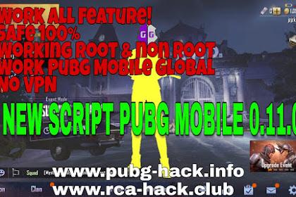 SCRIPT PUBG MOBILE 0.11.0 HACK