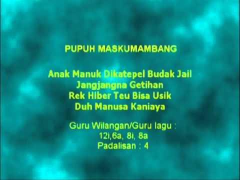 Pupuh Maskumambang