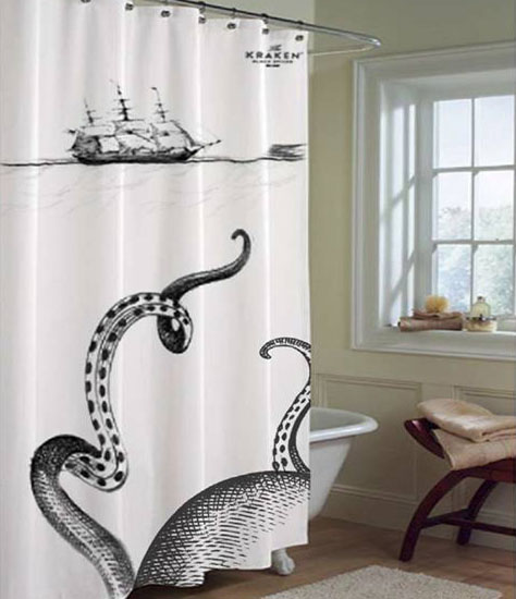 This Shower Curtain Amazing Looking Like Its All Made Out Of Sail Cloth And Super Pretty Crap Grommets At The Top Quality Awesomeness