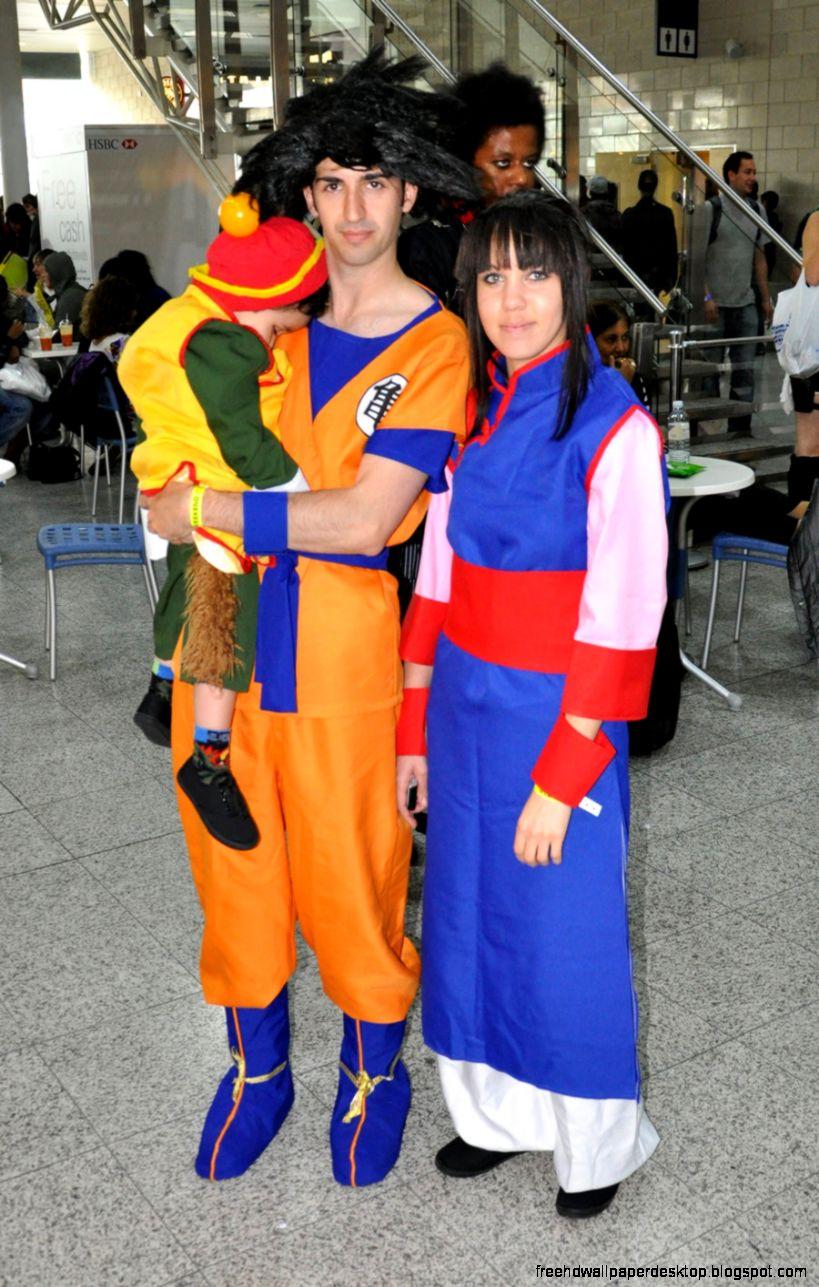 Dragon ball goku cosplay
