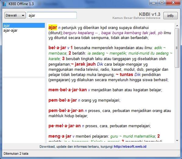 Info dan Trik: Arti Kata Menurut Kamus Besar Bahasa Indonesia  Tutorial  Trik HP  Trik