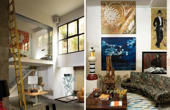 ART  LIFE DecoArt casaestudio de un pintor