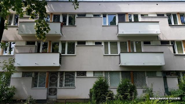 Warszawa Warsaw Żoliborz osiedle Skibniewska sady bloki balkony